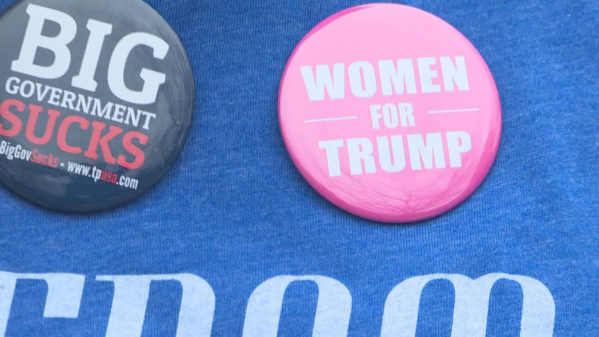 Support for the teacher teacher accused of ripping a student's Trump pin from her shirt is...