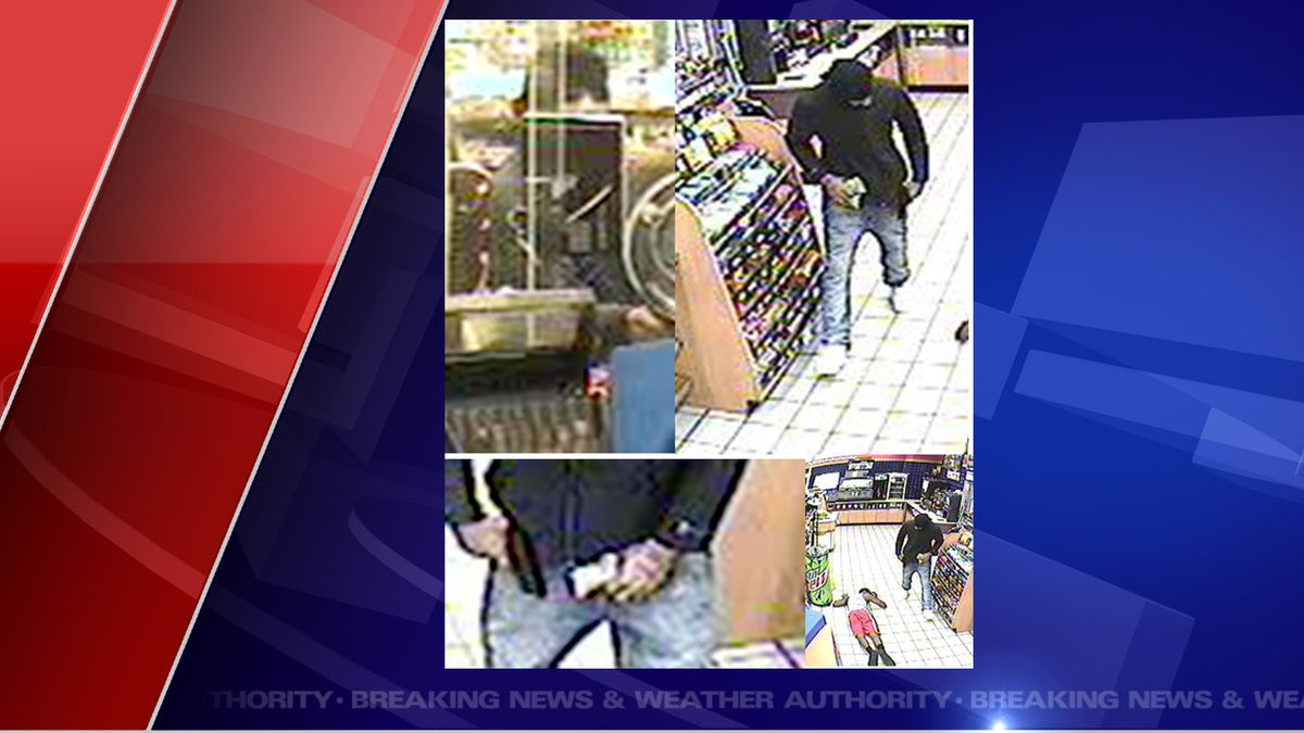 Police are investigating an armed robbery at a Lansing gas station. (Source ICSO)