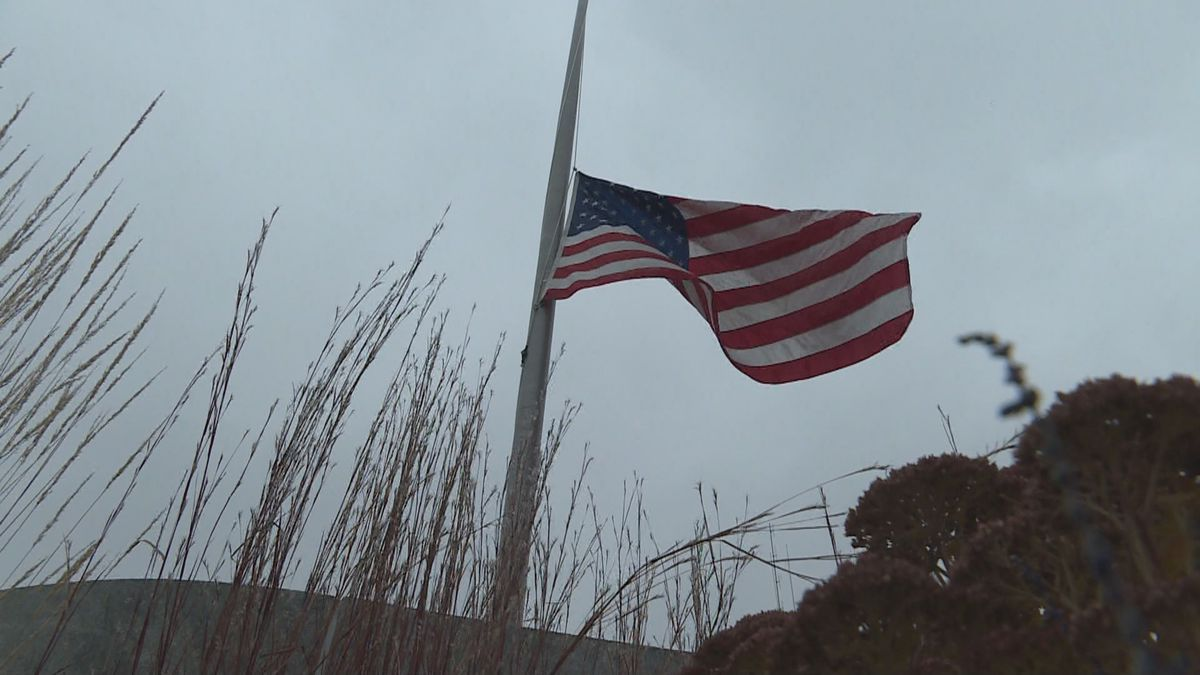 Flags fly 06 September at half mast in honor of the