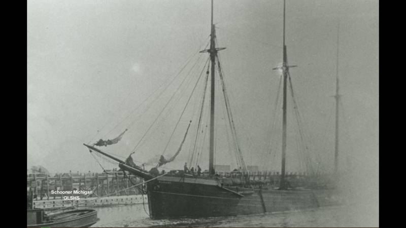 The Great Lakes Shipwreck Historical Society recently discovered three 1800's-era shipwrecks...