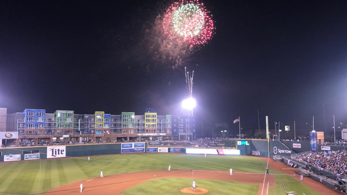 Lansing Lugnuts Fireworks Nights