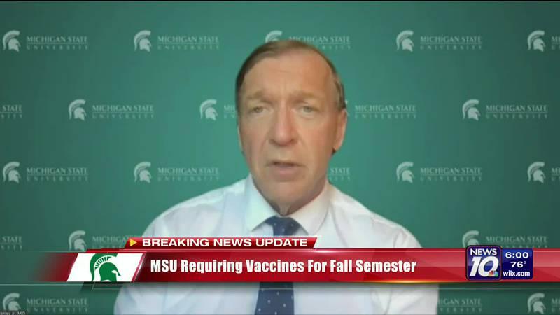 MSU requiring vaccine for fall semester