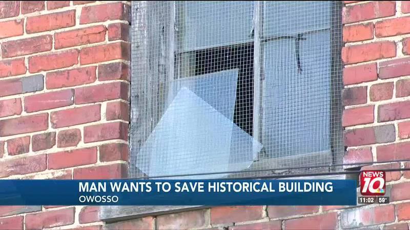 Historic Owosso building faces demise