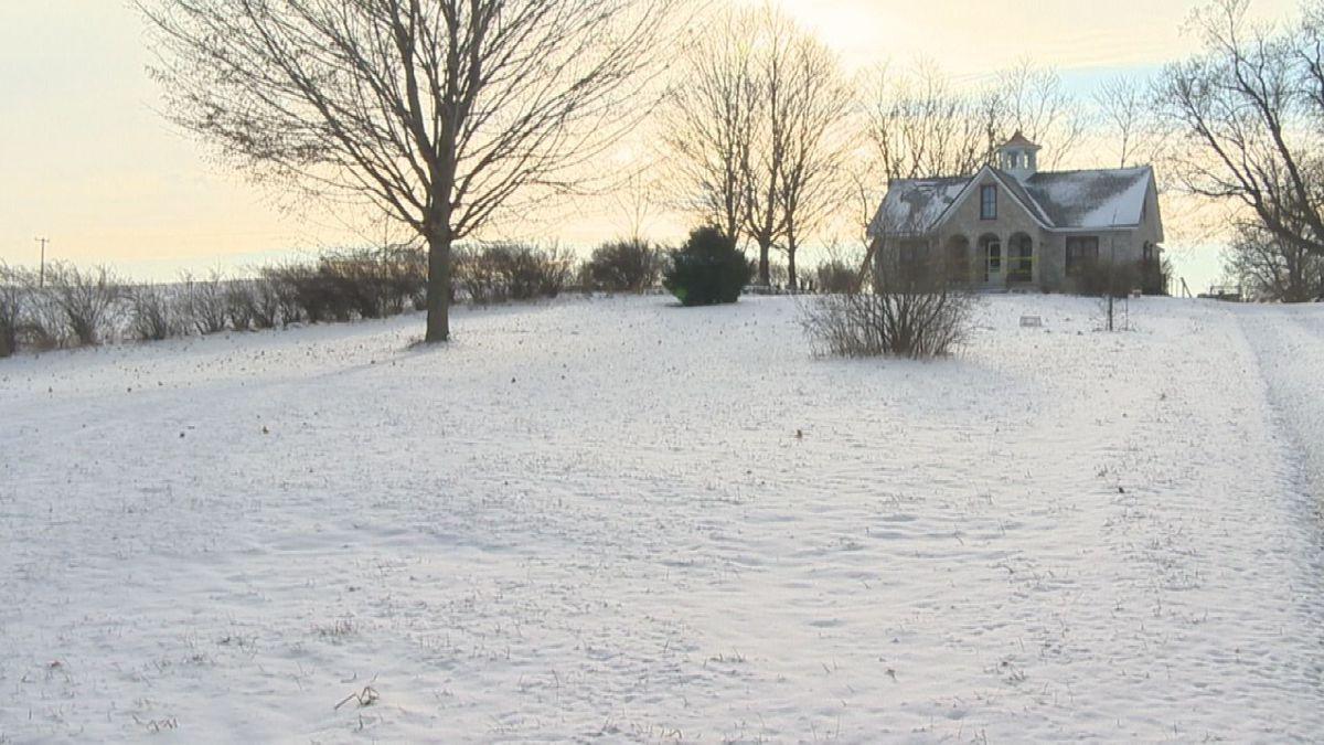 Mark Latunski's home in Shiawassee County is in foreclosure.