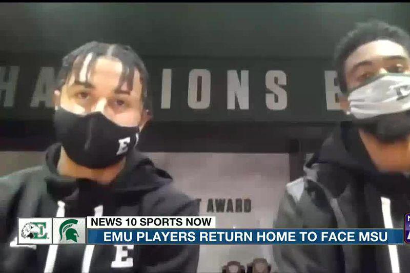 EMU players return home to face MSU