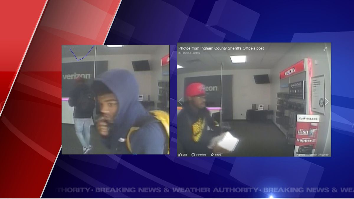 Suspects wanted in armed robbery in Holt.