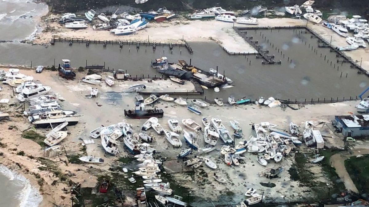 Category 5 Hurricane Dorian made landfall in the northwestern Bahamas on Sunday and Monday, bringing catastrophic winds and life-threatening storm surge.  (Source WPTV)