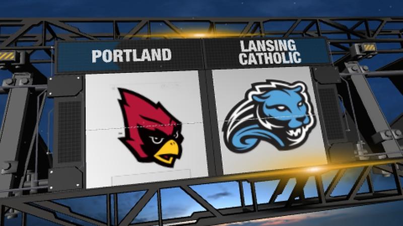 Portland vs Lansing Catholic