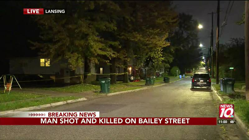 One dead after shooting on Bailey St.
