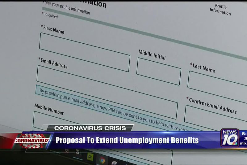 Proposal made to extend unemployment benefits