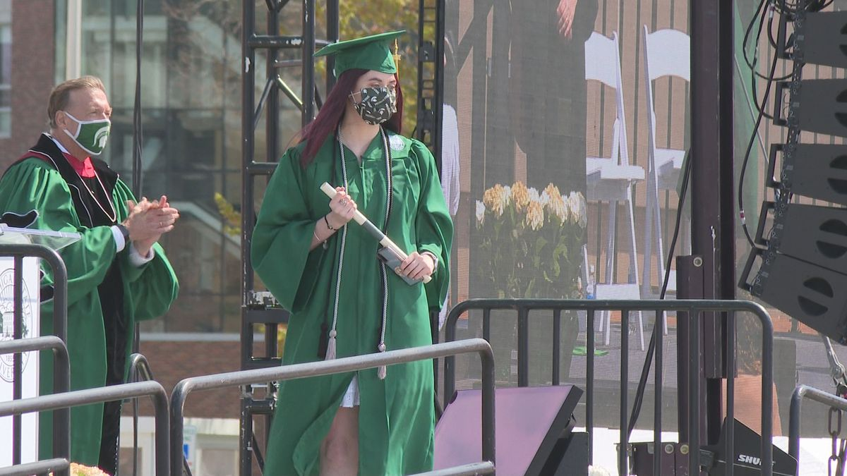 MSU graduation ceremony