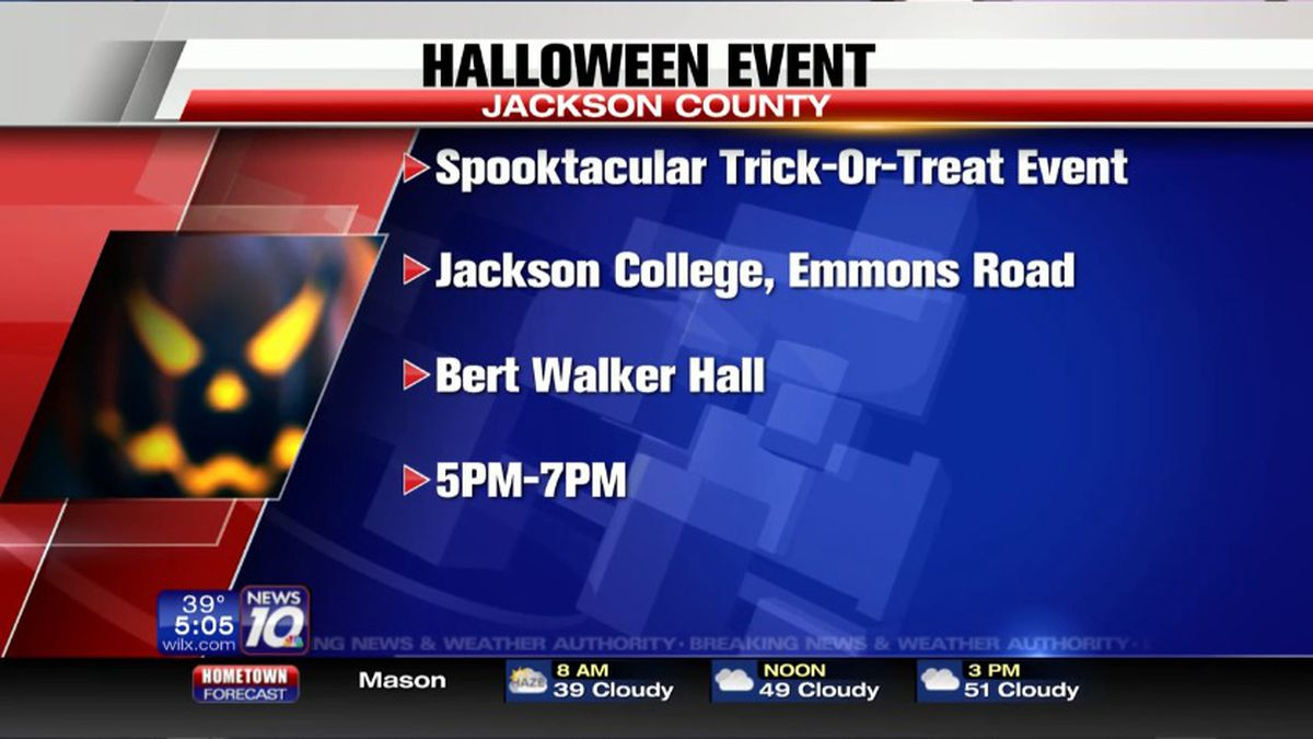 Trick Or Treat Event In Jackson Friday Night