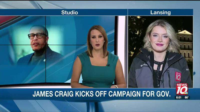 Former Detroit Police Chief James Craig set to kick off campaign for governor