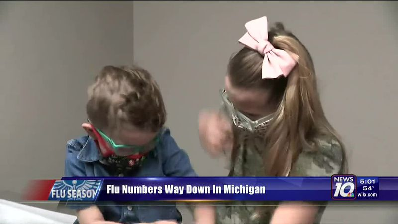 Flu Cases Way Down In Michigan