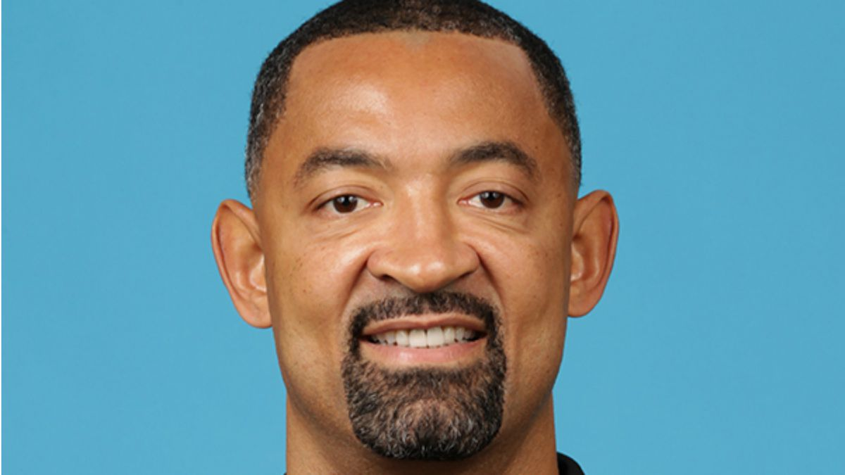 Juwan Howard's photo as an assistant coach with the Miami Heat