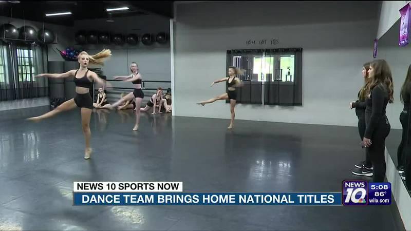 Dance team brings home national titles