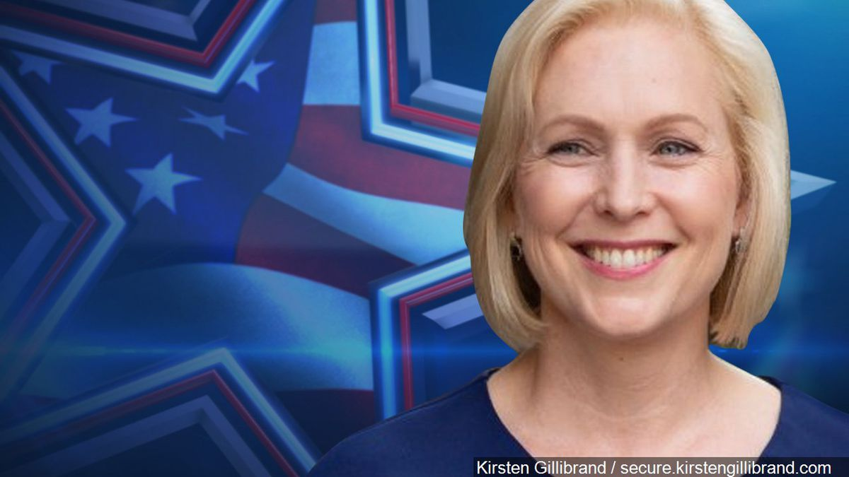 Sen. Kirsten Gillibrand's announcement came in a nearly three-minute video produced by her campaign and released early Sunday morning.