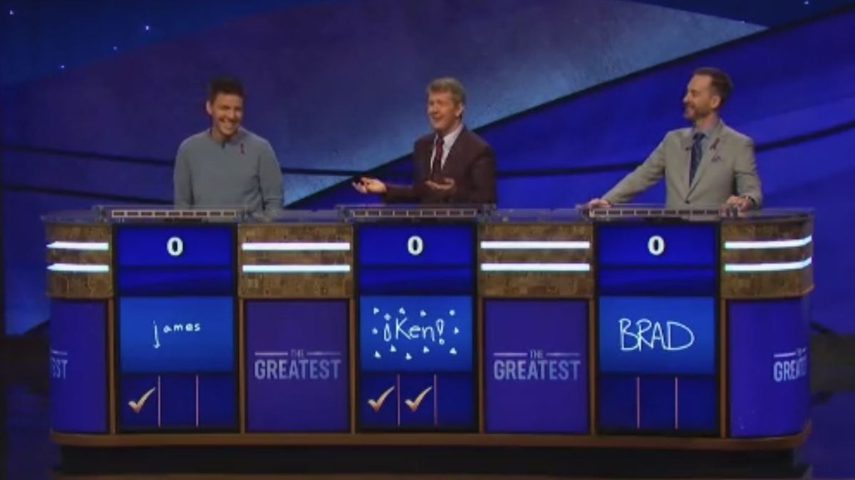 Ken Jennings is officially the greatest Jeopardy player of all time. (Source CNN)