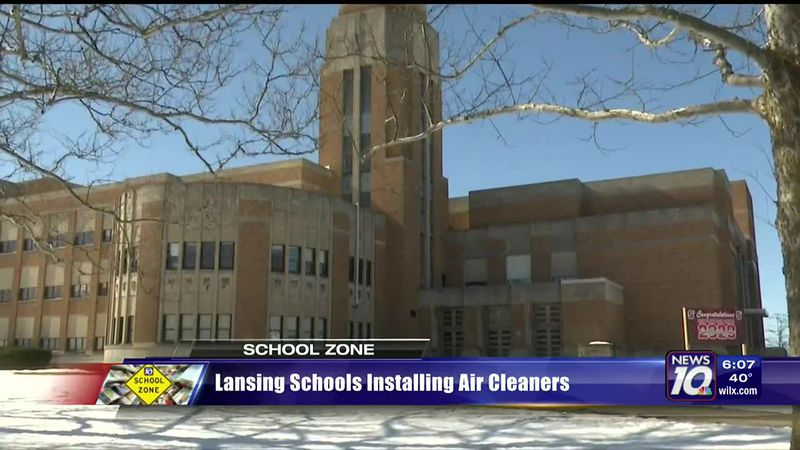 Lansing schools installing air cleaners