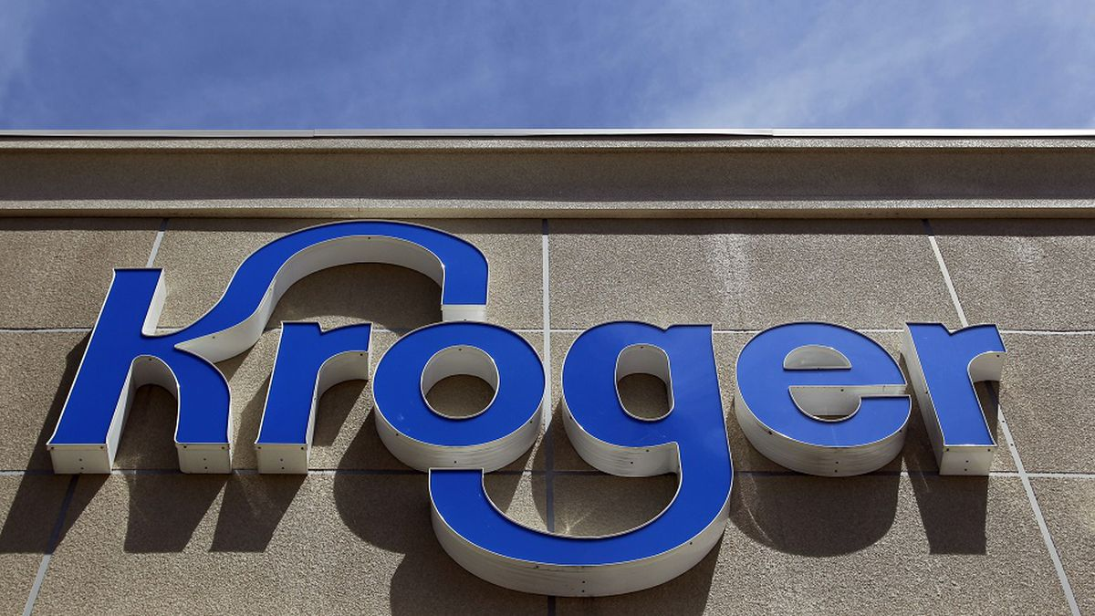 This Tuesday, June 12, 2012, photo shows a Kroger grocery store in Dearborn, Mich. (AP...