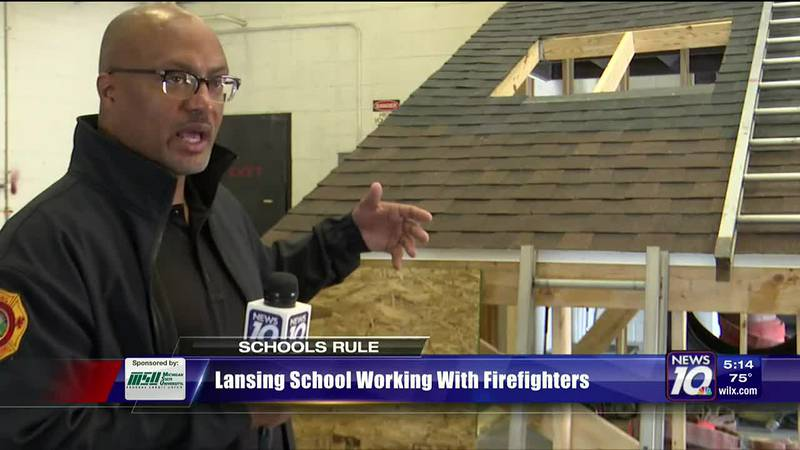 Schools Rule: Lansing school working with firefighters