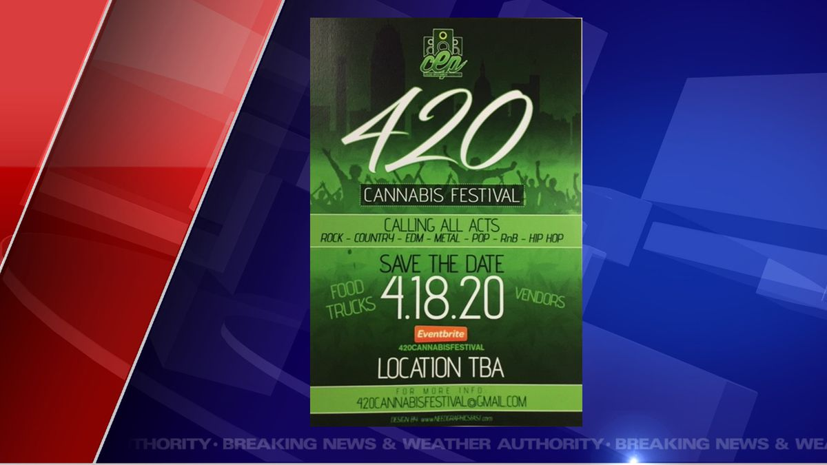 It's not just a concert; dispensaries are invited to set up informational booths.  (Source WILX)