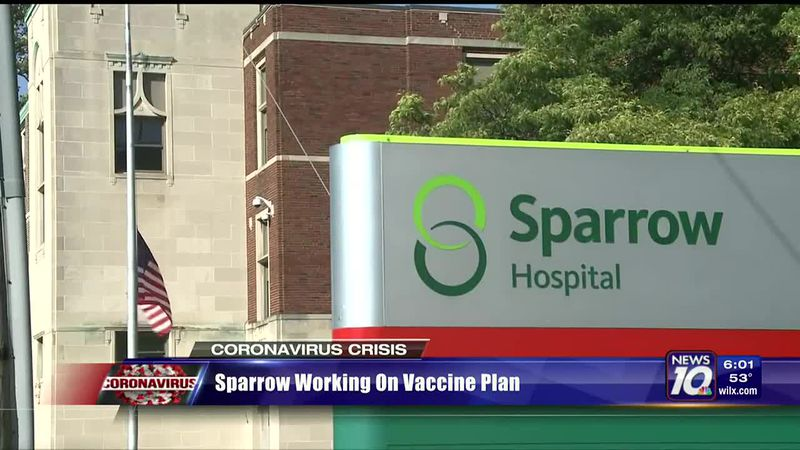 Sparrow Hospital working on vaccine plan