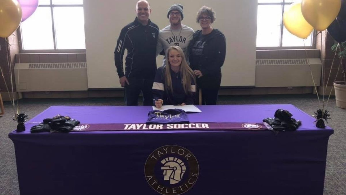 Madison Hall has signed to play for Taylor University in Upland Indiana in the fall. (Source: Archie Hall)