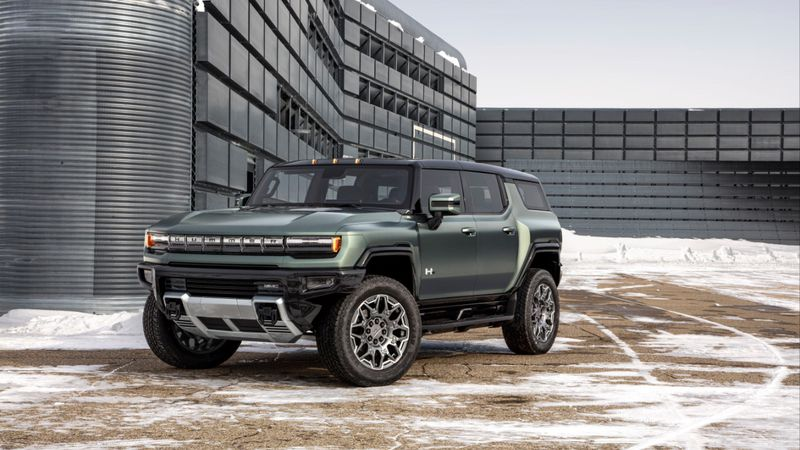 The 2024 GMC HUMMER EV SUV completes the HUMMER EV family and features a 126.7-inch wheelbase...