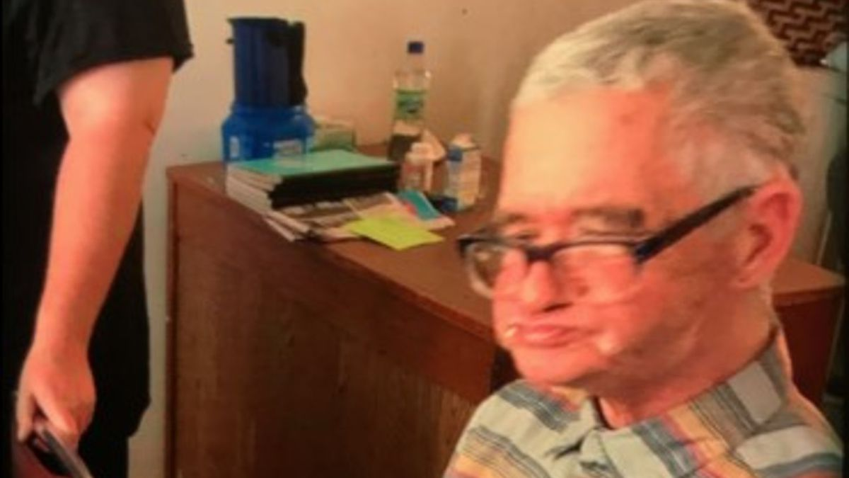 Bruce Hardy has been reported missing since 4 p.m.