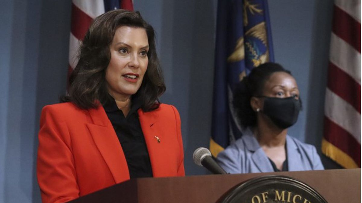 Gov. Whitmer held a press conference on the state's continued response to COVID-19 Tuesday.