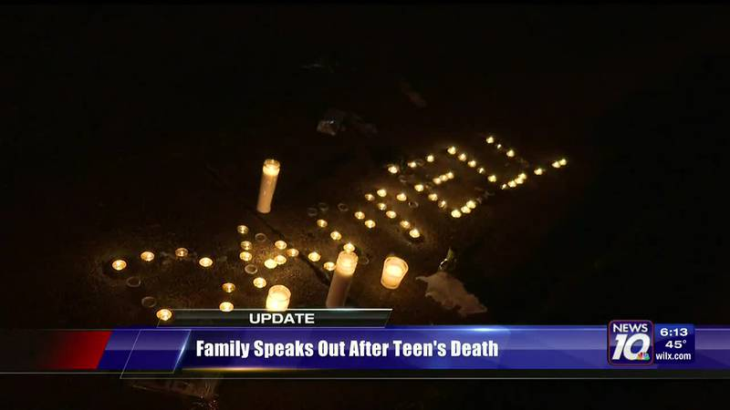 Family speaks out after teen's death