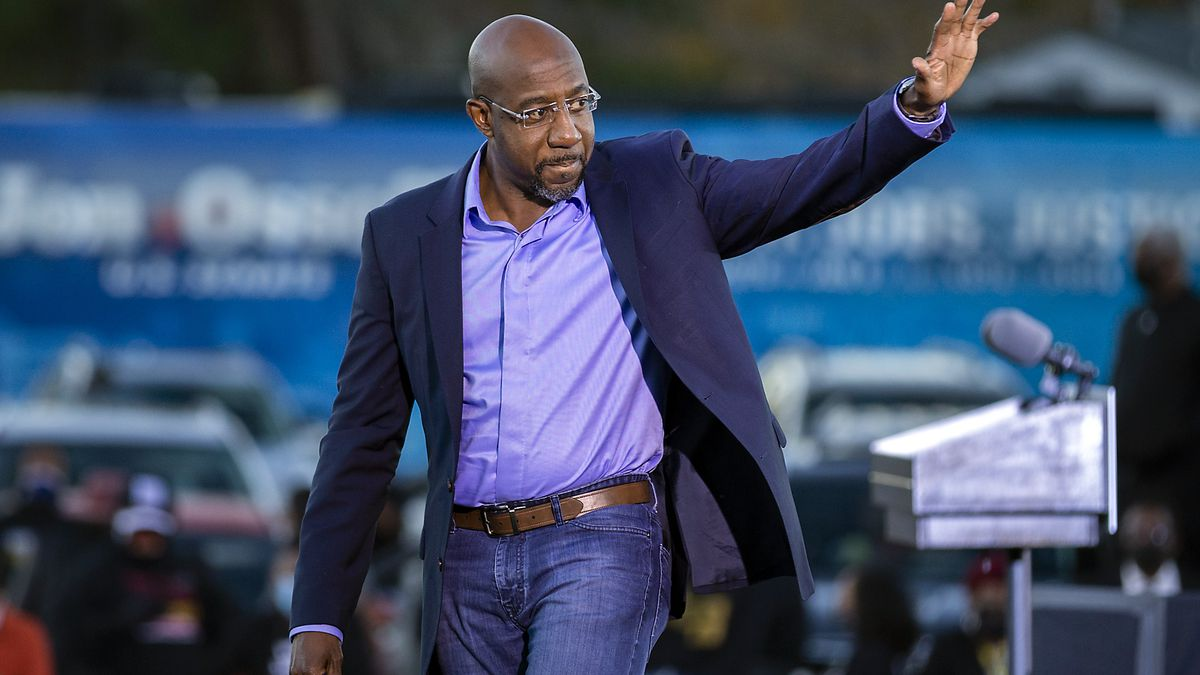 A man who made threats to Georgia Senator-elect Raphael Warnock is facing federal charges. (AP...