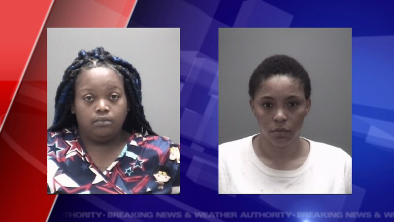 Marissa Donette Gilbert, 29 on the left.  Sharnae Nicole Cook, 27, on the right.
