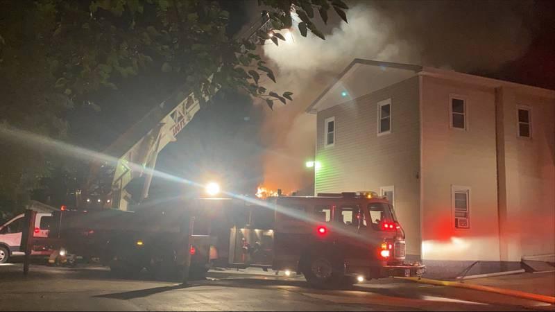 Ralph and Brook street fire
