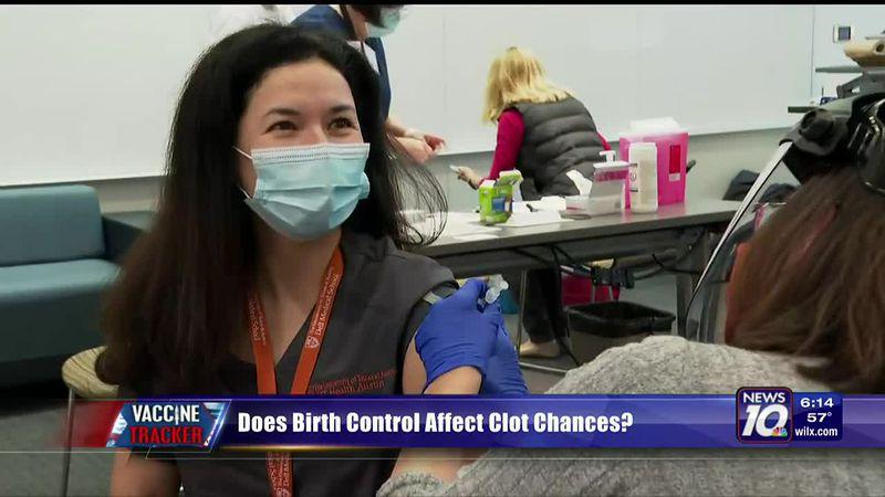 Does birth control affect clot chances