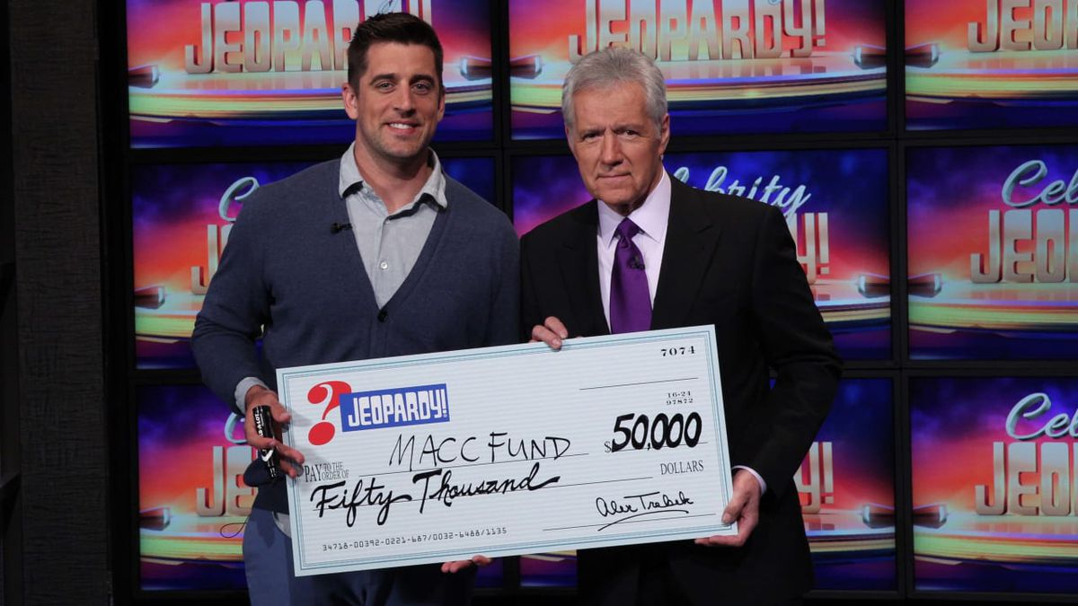 Green Bay Packers quarterback, and Celebrity Jeopardy! champion, Aaron Rodgers has been tapped...