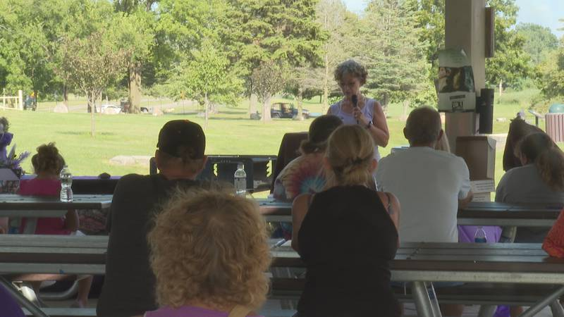 Families speak about overdose awareness in Jackson.