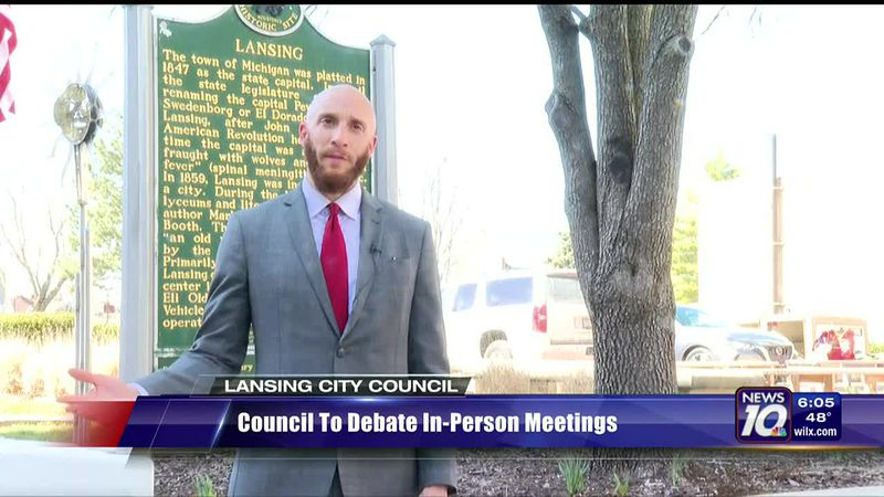 Council to debate in-person meetings