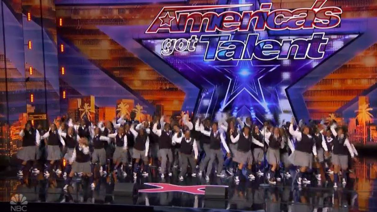 The Detroit Youth Choir performs on America's Got Talent Tuesday August 27 (Photo credit: NBC)