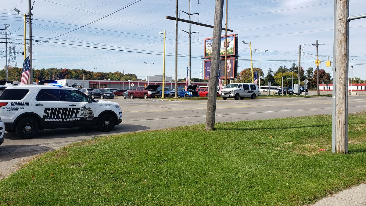 An area near Cedar Street and Armstrong Road is closed to motorists until further notice because of an accident that occurred about 12:50 p.m. Friday.  (Source WILX)