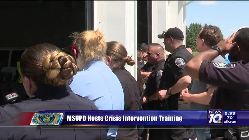 MSUPD does crisis intervention training