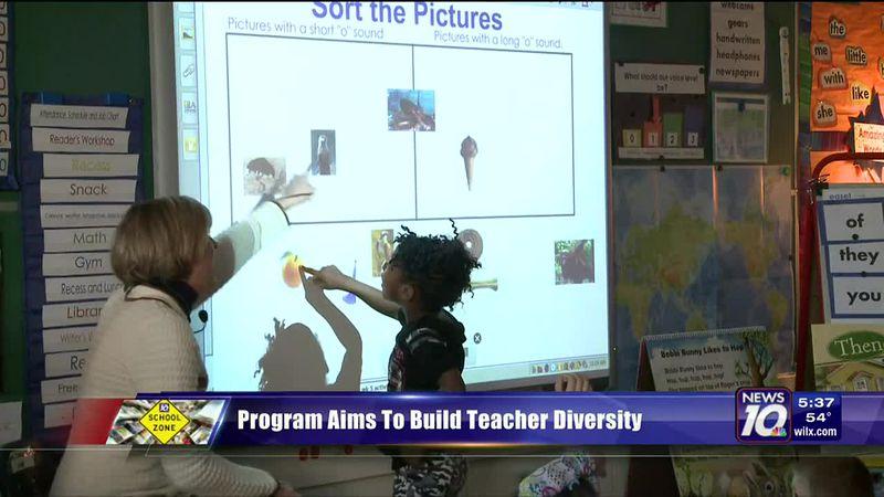 Program Aims To Build Teacher Diversity