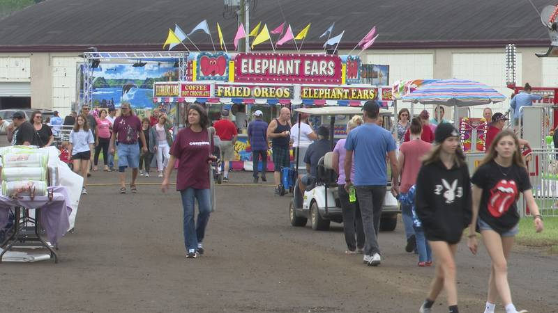 Ionia Free Fair sees record breaking attendance.