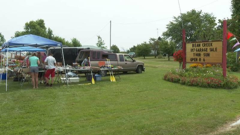 The U.S. 127 Yard Sale is this weekend.