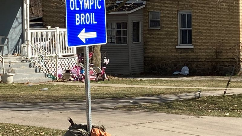 Detour for Olympic Broil