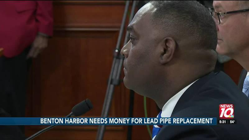 Benton Harbor needs money for lead pipe replacement