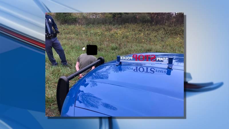 MSP arrest fleeing suspect