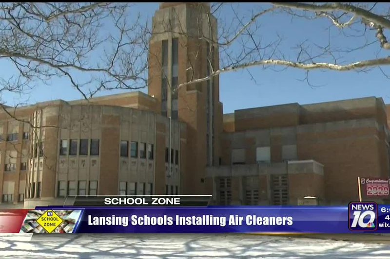 Lansing schools installing air cleaners