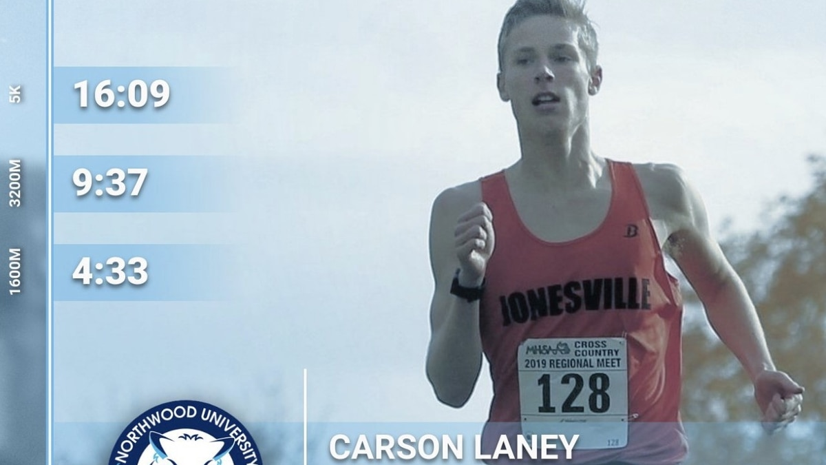 Carson Laney of Jonesville was recognized during News Ten's 'Seniors Sidelined' campaign.